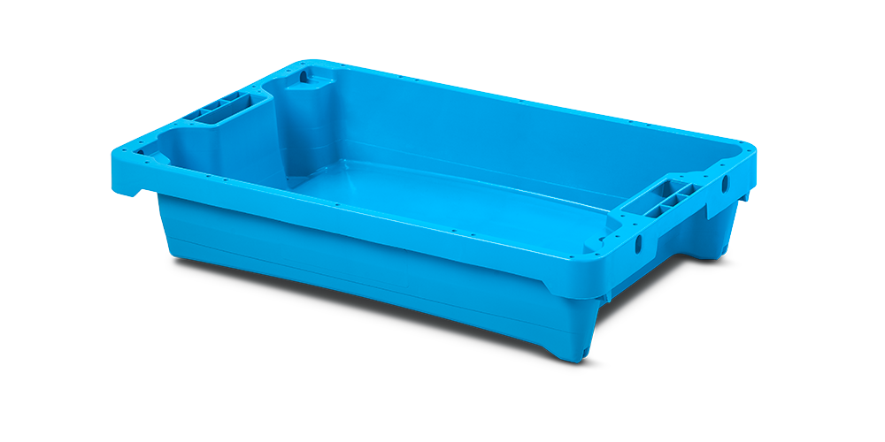 Solid Container with drainage
