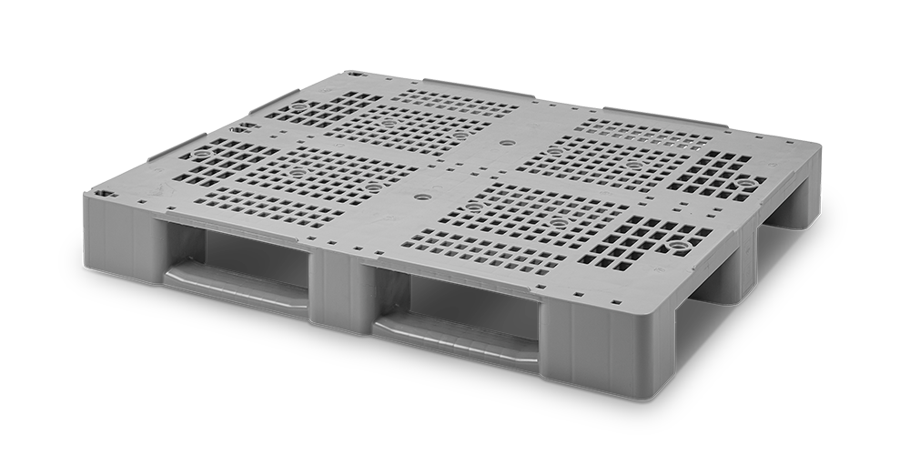 C3 Pallet with 3 metal reinforcements