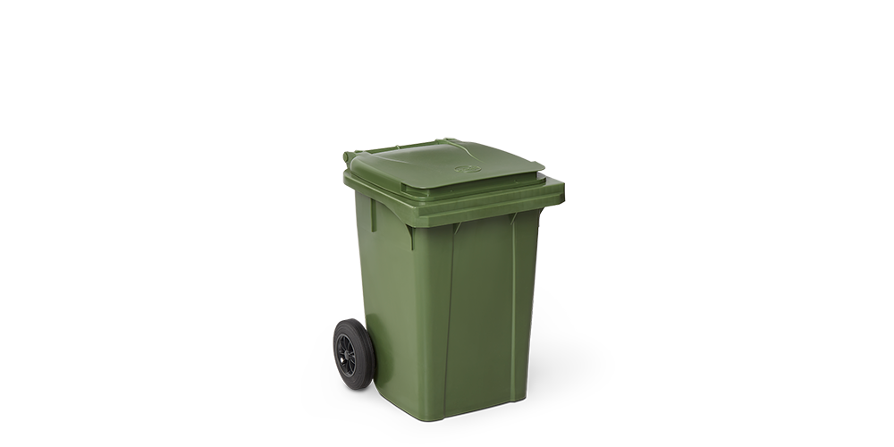 Wheelie Bin of 200 mm.