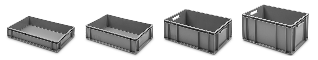 Solid Stackable Containers