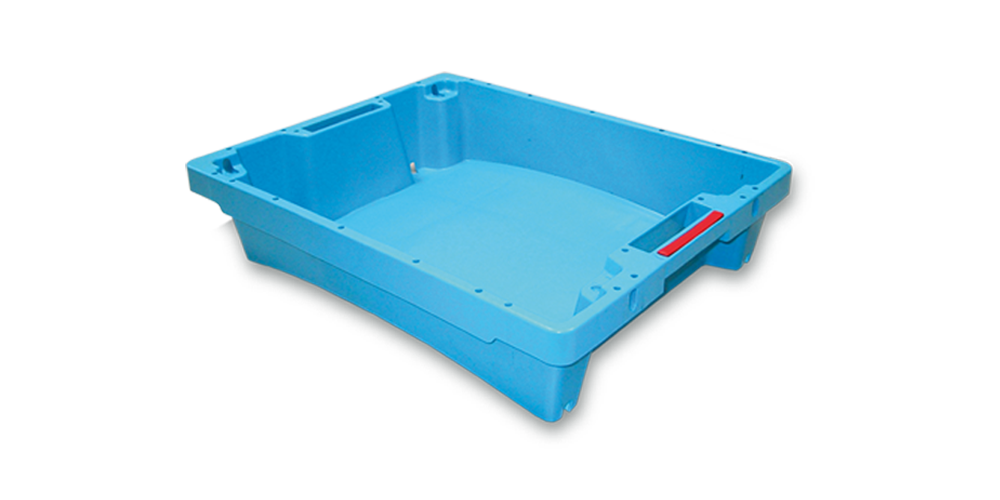 Solid Container without drainage without spillway and handle opening