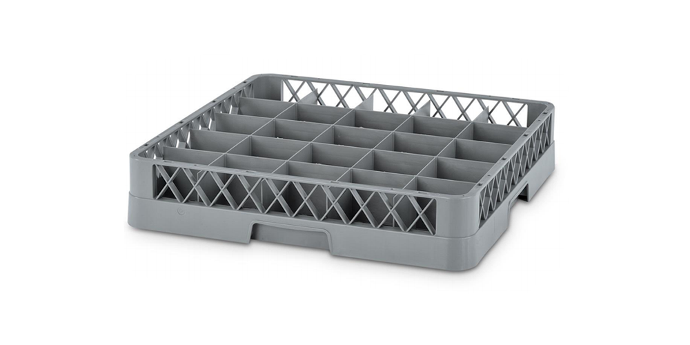 Dishwasher Plate Rack with 25 Compartments