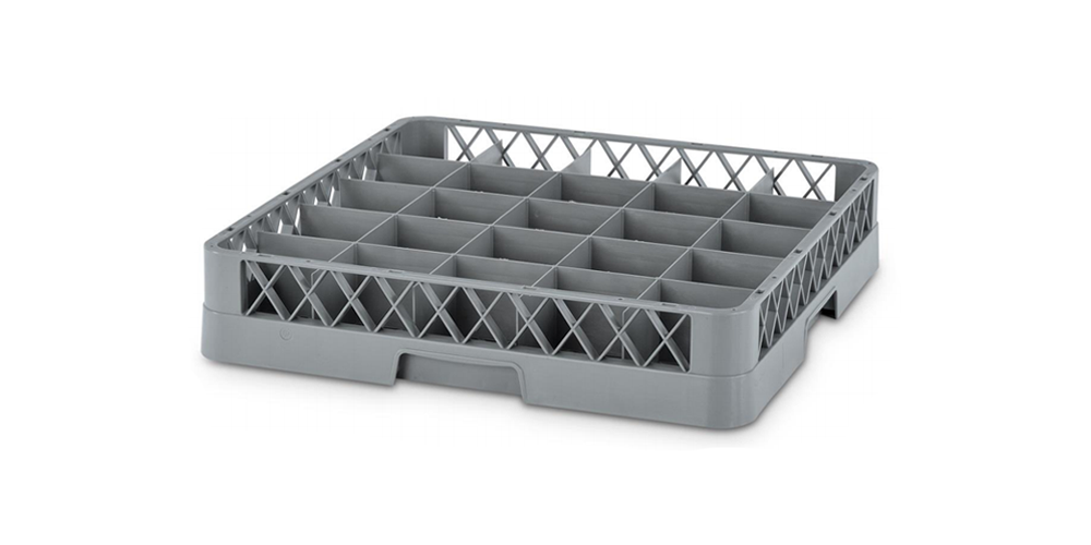Dishwasher Plate Rack with 36 Compartments
