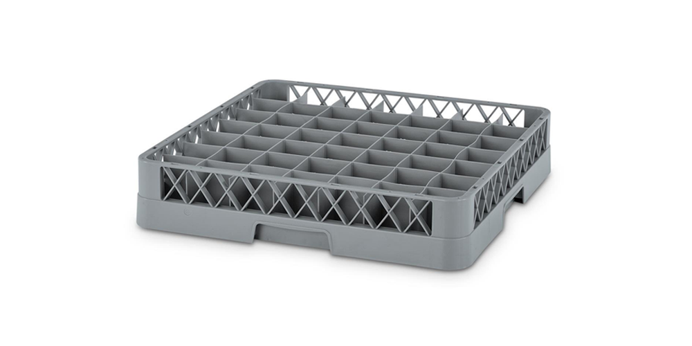 Dishwasher Plate Rack with 49 Compartments