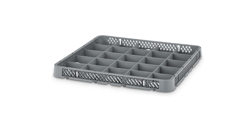 Dishwasher Extension Rack with 25 Compartments