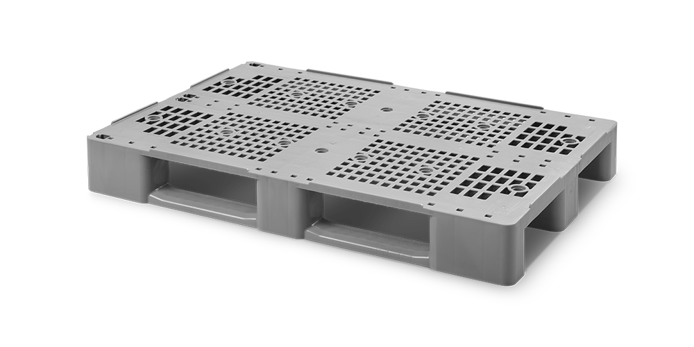 Pallet C1 with 4 Internal Metal Reinforcements
